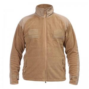 Mens Polar Fleece Warm Loose Outdoor Stand Collar Jacket Casual Coats